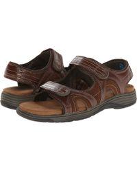 Nunn Bush - Randall Two-strap Sandal - Lyst