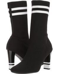 52ddec8271155 Lyst - Circus by Sam Edelman Joy Stretch-sock Bootie in Black