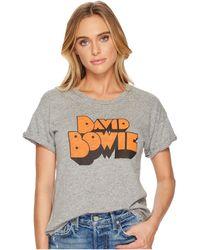 The Original Retro Brand - David Bowie Rolled Sleeve Crew Neck T-shirt - Lyst