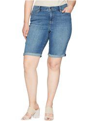 Lauren by Ralph Lauren - Plus Size Superstretch Denim Shorts - Lyst