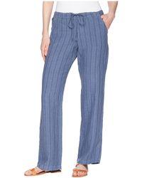 Allen Allen - Stripe Long Pants - Lyst