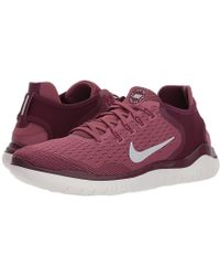 94015babd2 Nike - Free Rn 2018 (bordeaux/wolf Grey/vintage Wine) Running Shoes