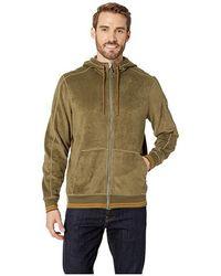 4f187b6131c35 Toad&Co Epique Full Zip Hoodie (rustic Olive) Men's Sweatshirt in Natural  for Men - Lyst