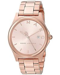 Marc By Marc Jacobs - Henry - Mj3585 (rose Gold) Watches - Lyst