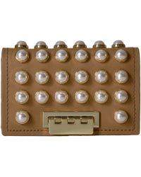 Zac Zac Posen - Earthette Card Case With Chain - Pearl Lady - Lyst