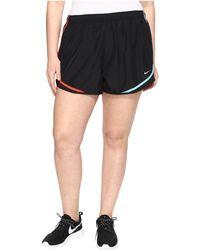 "Nike - Dry Tempo 3"" Running Short (size 1x-3x) - Lyst"