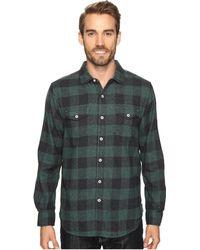 True Grit - Vintage Melange Buffalo Check Long Sleeve Two-pocket Shirt - Lyst