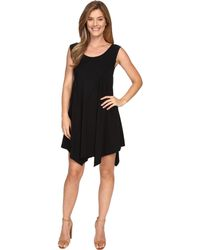 Mod-o-doc - Cotton Modal Spandex Asymmetrical Seam Dress - Lyst