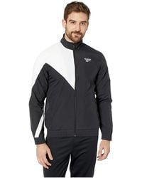 10dca3c542730 Lyst - Reebok Classics Track Top in White for Men