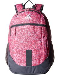 f4a7c1d4493b Lyst - adidas Foundation Iii Backpack in Pink