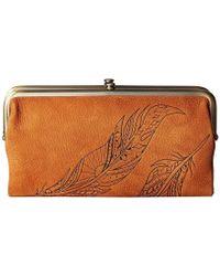 Hobo - Lauren (tobacco 1) Clutch Handbags - Lyst
