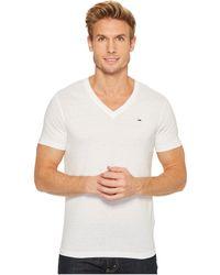 Hilfiger Denim - Original Melange V-neck Short Sleeve T-shirt - Lyst