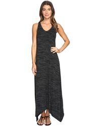 Mod-o-doc | Space Dyed Rayon Spandex Jersey Sleeveless Maxi Dress | Lyst