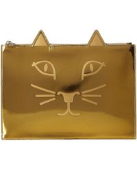 Charlotte Olympia - #kitty Pouch - Lyst