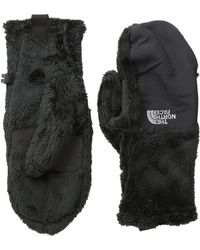 The North Face - Women's Denali Thermal Mitt (tnf Black (prior Season)) Extreme Cold Weather Gloves - Lyst
