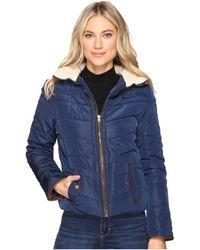 Brigitte Bailey - Solo Jacket W/ Sherpa Lined Collar - Lyst