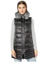 Sam Edelman - Faux Fur Puffer Vest (black) Vest - Lyst