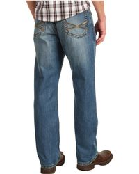 Stetson - 1520 Fit, Medium Wash, Back Knee Tacking - Lyst