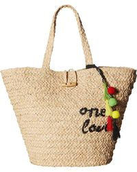 "Hat Attack - Bob Marley ""one Love"" Tote - Lyst"