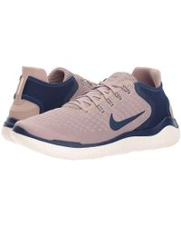 b9407b6ede Nike - Free Rn 2018 (diffused Taupe/blue Void/gauve Ice) Running