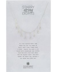 Dogeared - 8 Dripping Crystal Necklace - Lyst