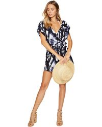Dolce Vita - In The Shade Wrap Romper Cover-up - Lyst