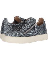Giuseppe Zanotti - May London Glitter Low Top Sneaker - Lyst