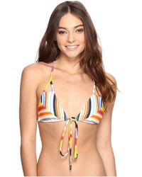 Red Carter - Sunset Haze Strap Back Triangle Top - Lyst
