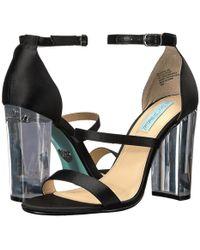 8ebc96307492 Lyst - Ash Dafne Wedge Sandals in Black