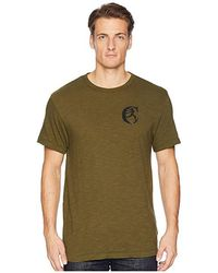 Todd Snyder - + Champion(r) Back Graphic Tee (olive) T Shirt - Lyst