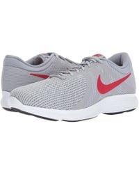 3bef44509fd Lyst - Nike Revolution 3 in Gray for Men
