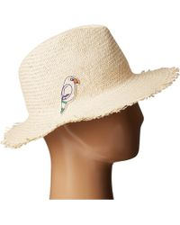Hat Attack - Parrot Patch Fringed Rancher - Lyst