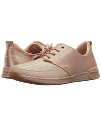 Reef - Rover Low Tx (rose Gold) Lace Up Casual Shoes - Lyst