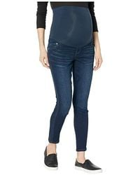 7fb03685b045a Articles of Society Maternity Secret Fit Belly® Skinny Jeans, Delray Wash  in Blue - Lyst
