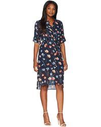 Jones New York - Printed Floral Shirtdress - Lyst
