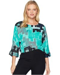 NIC+ZOE - Jade Pebble Top - Lyst