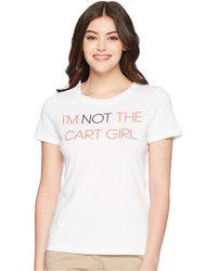 adidas Originals - Cart Girl Graphic Tee - Lyst