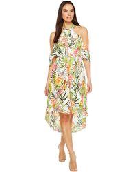 Adelyn Rae - Leanna Floral Cold Shoulder Dress - Lyst