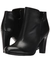 Sam Edelman - Shelby Leather Ankle Boots - Lyst