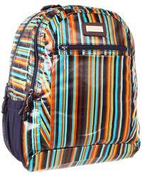 Hadaki - Arabesque Stripes - Printed Coated Cool Backpack - Lyst