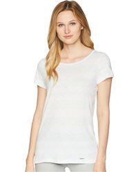 U.S. POLO ASSN. - Mixed Stripe Tie Back T-shirt - Lyst