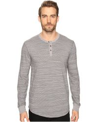 Lucky Brand - Lived-in Stripe Henley - Lyst