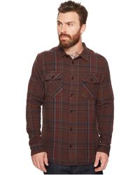RVCA - Camino Flannel Long Sleeve Shirt - Lyst
