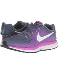 promo code f0fb5 02d59 Nike - Air Zoom Pegasus 34 Flyease (light Carbon/white/hyper Violet)