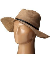 BCBGMAXAZRIA - Sueded Panama Hat - Lyst
