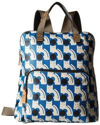 Orla Kiely - Poppy Cat Print Backpack Tote - Lyst