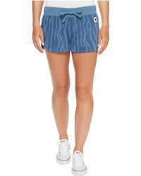 Converse - Mesh Paneled Track Shorts - Lyst