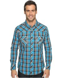 ... Long Sleeve Snap B2s9056 | Lyst. Rock And Roll Cowboy