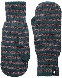 Smartwool - Striped Knit Mitt - Lyst
