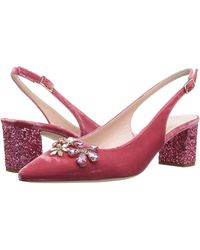Kate Spade New York Montana Antique Rose VelvetPink Glitter Heel 8927204